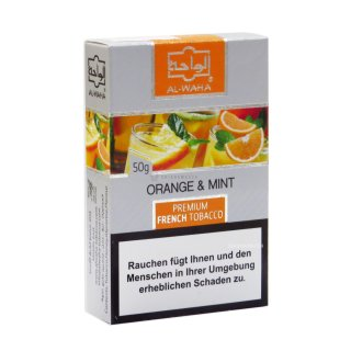 Al Waha 50g Orange Mint 1
