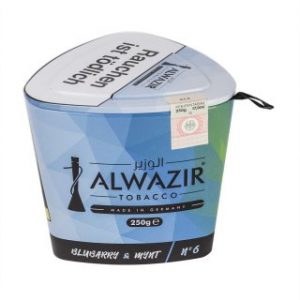 ALWAZIR 250g n°6 BLUBARRY & MYNT