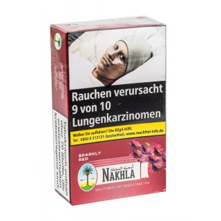 Nakhla 200g SPARKLY RED Raspberry