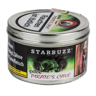 STARBUZZ 200g Exotic PIRATE'S CAVE 1