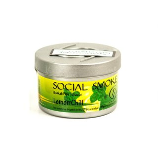 Social Smoke 250g Lemon Chill 1