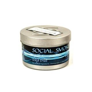 Social Smoke 250g Baja Blue 1