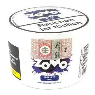 ZoMo Tobacco 200g BLU MNT 1