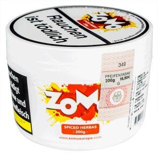 ZoMo Tobacco 200g SPICED HERBAS 1