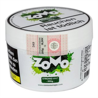 ZoMo Tobacco 200g STRONG MNT 1