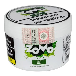 ZoMo Tobacco 200g MNT 1