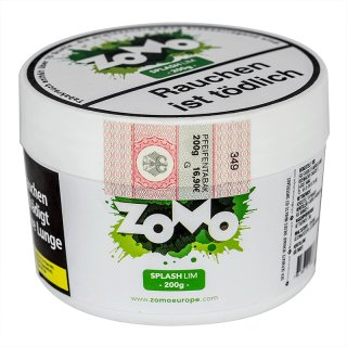 ZoMo Tobacco 200g SPLASH LIM 1
