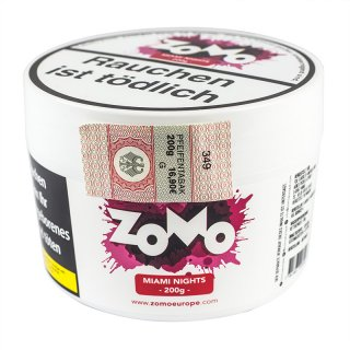 ZoMo Tobacco 200g MIAMI NIGHTS 1