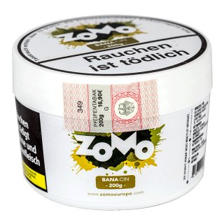 ZoMo Tobacco 200g BANA CIN 1