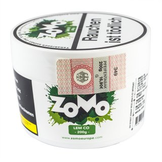 ZoMo Tobacco 200g LEM CO 1