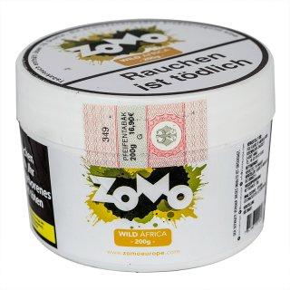 ZoMo Tobacco 200g WILD AFRICA 1