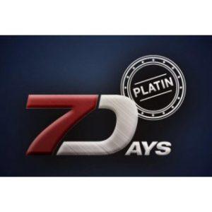 7 DAYS Platin 200g