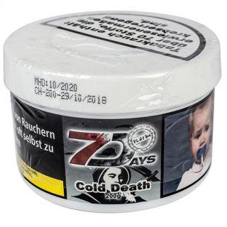 7 DAYS PLATIN 200g Cold Death 1