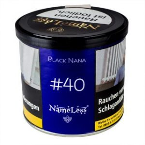 NameLess 200g 40 Black Nana tabak