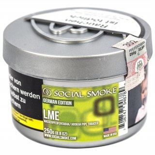 Social Smoke 250g LME 1