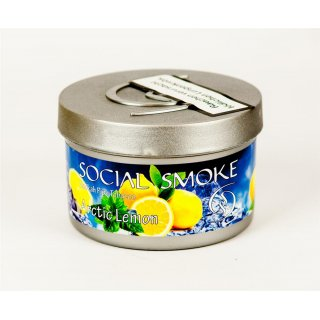 Social Smoke 250g Arctic Lemon 1