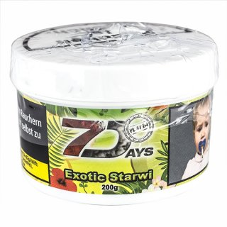 7 DAYS PLATIN 200g Exotic Starwi 1