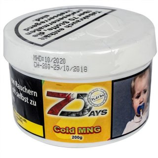 7 DAYS PLATIN 200g Cold MNG 1