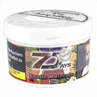7 DAYS PLATIN 200g Exotic Melocuja 1