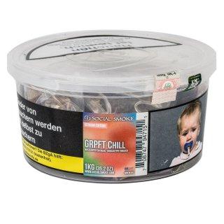 Social Smoke 1Kg GRPFT CHILL 1