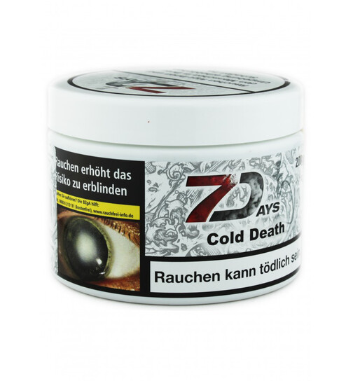 7 Days Cold Death Tabak 200g