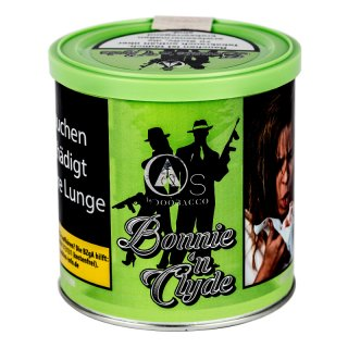 O's Tobacco Green 200g Bonnie'nClyde