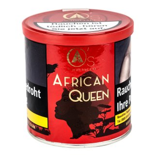 O's Tobacco Red 200g AFRICAN QUEEN