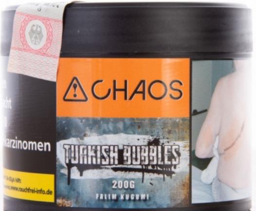 Chaos Tabak | Turkish Bubbles
