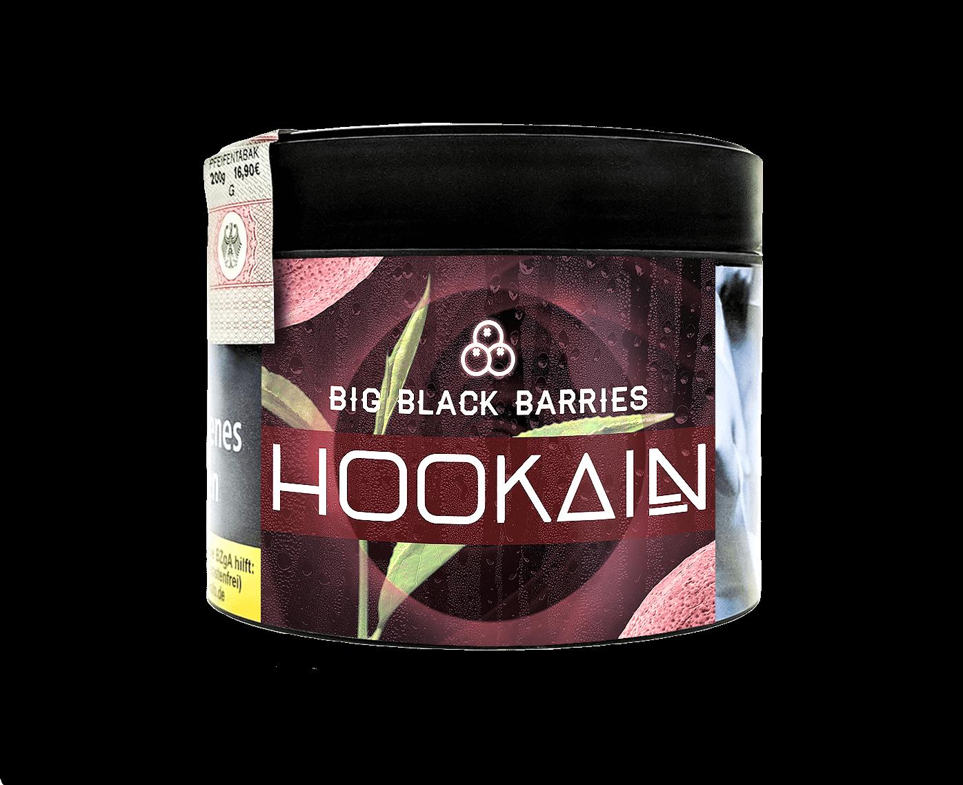 Hookain Big Black Barries 200g
