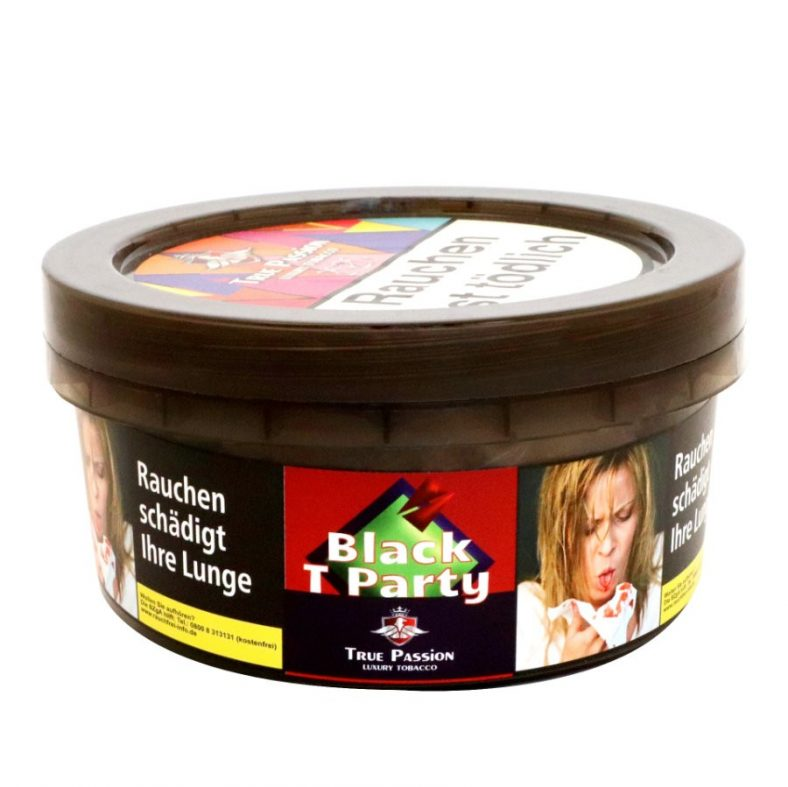 Black T Party Tabak True Passion 1kg