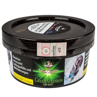 True Passion Tabak GREEN XPLOSIN 1kg