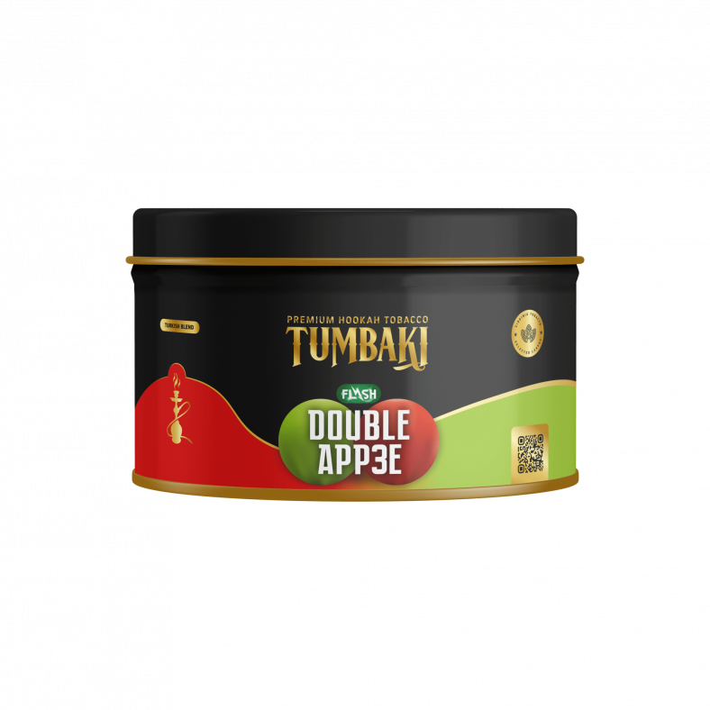 Tumbaki Tabak 200g – Double app3e Flash